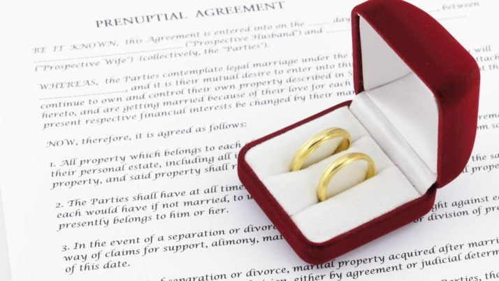 5 Reasons Why Young Couples Are Getting Prenuptial Agreements